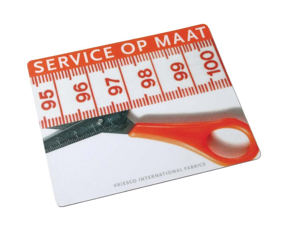 (1) * 1000x full colour thin mousepad's ideaal voor mailing