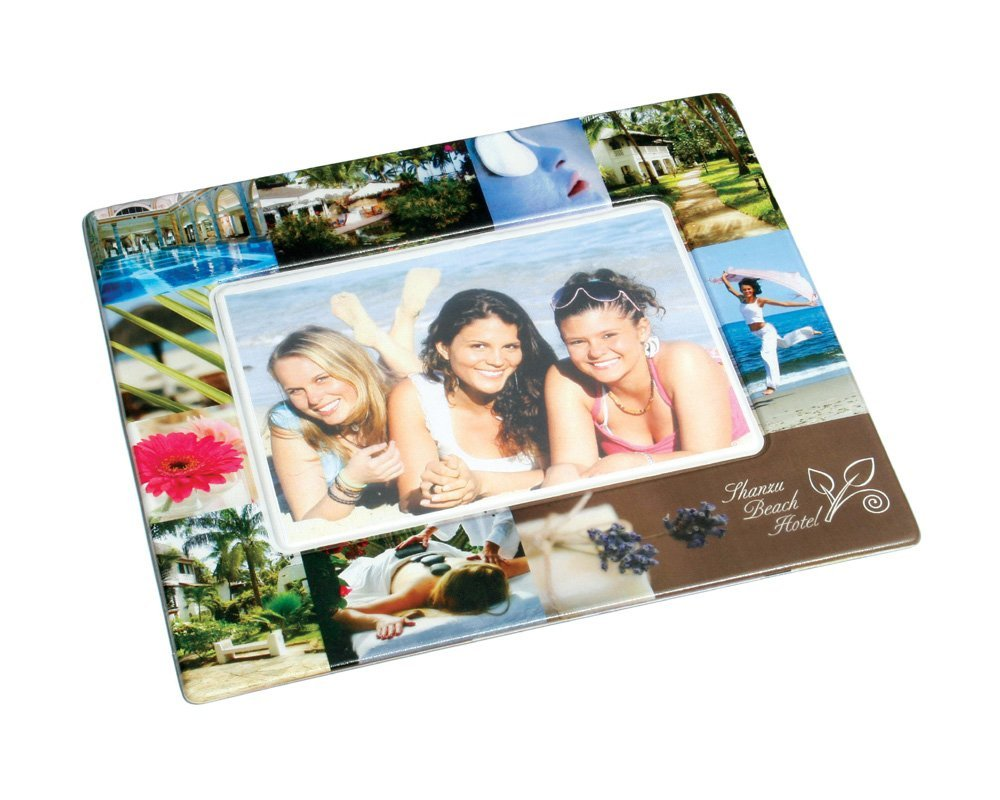 (1) * 1000x mouspad/photo holder colour