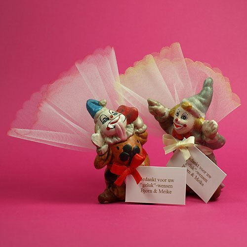 100x Nostalgische clowns in sortie