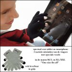 *  1000x actie tablet/smartphones touch screen handschoenen