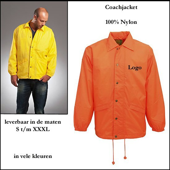 *  100x Coachjacket