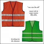 1000x relatiegeschenken PROMO SAFETY JACKET