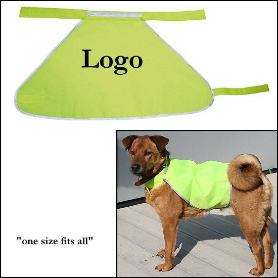 1000x relatiegeschenken Hond Safety Jacket