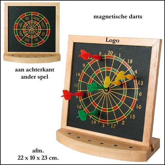102x dartboard tafel model