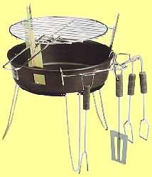 50x komplete barbecue set