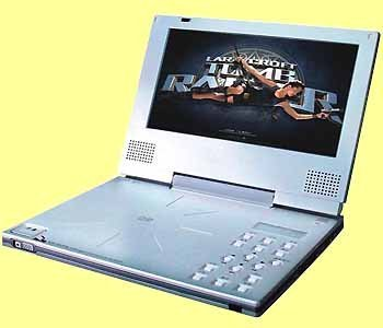 25x Portable DVD Player 7' TFT LCD