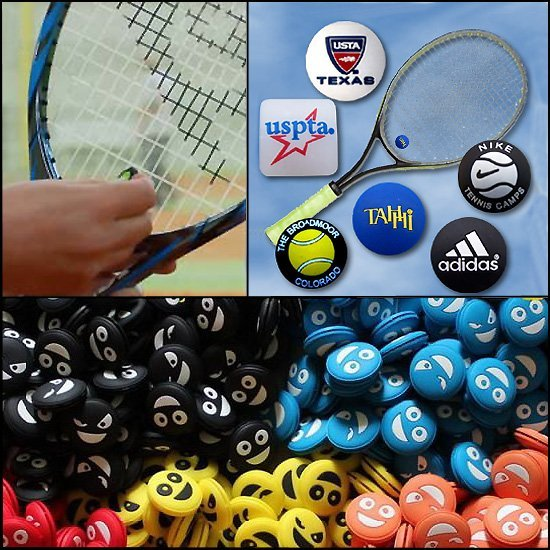 * 2500x tennisracket dempers