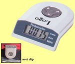 500x pedometer + calorie/afstand meter