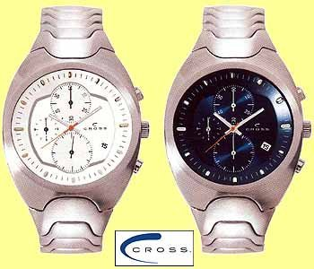 15x Cross chronoraaf horloge's