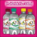 * 1000x FruitDrink 330 ml.