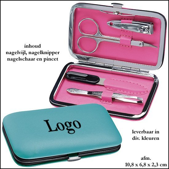 * 500x Manicure set in Etui