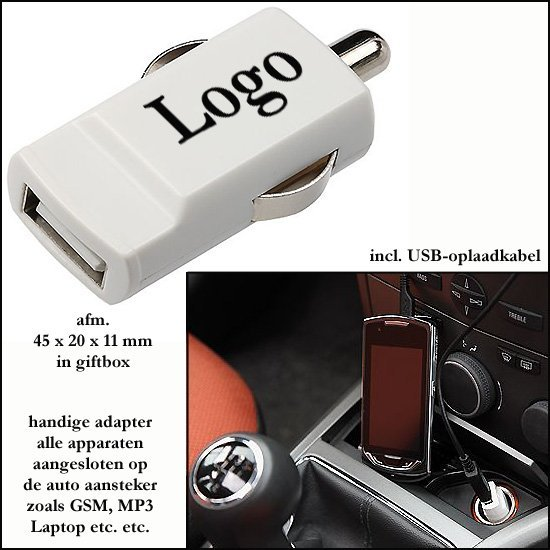 * 1000x Mini auto USB lader genius