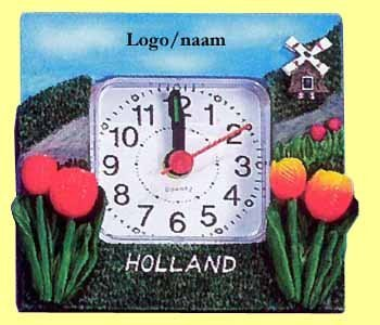 120x holland/landschap klokje