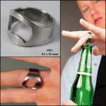 *  500x finger ring flesopener