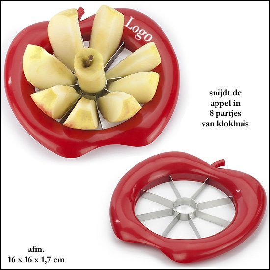 1000x Appelsnijder/boor
