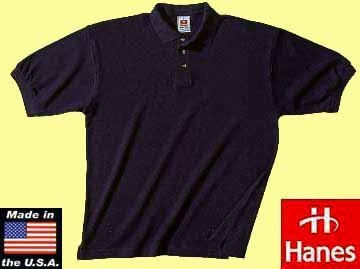 50x Hanes heavyweight polo