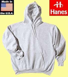 50x Hanes hooded pullover