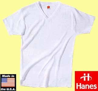 "50x Hanes spicy T-V-shirt ""white"""