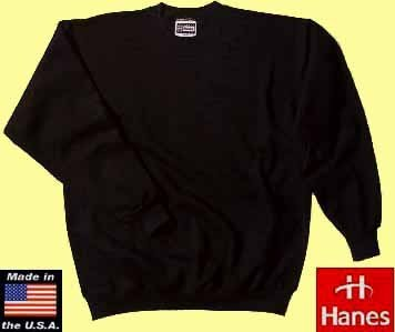 50x Hanes ultimate crew neck sweater