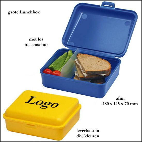 * 1000x grote Lunchbox