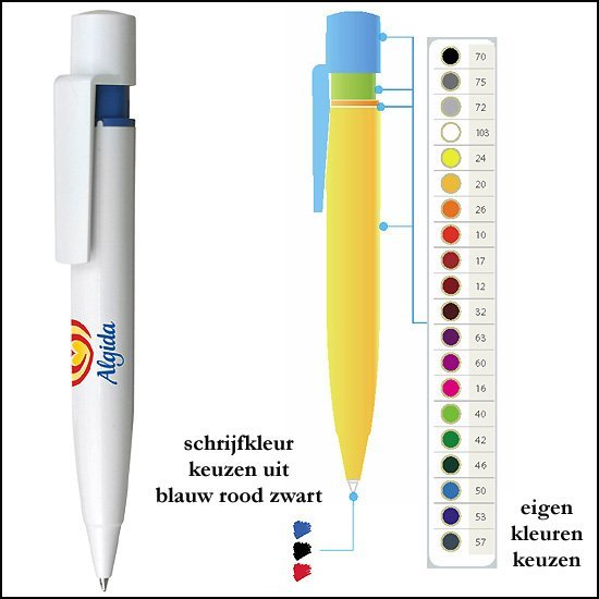 * 10.000x BIG FAT PEN in eigen kleuren