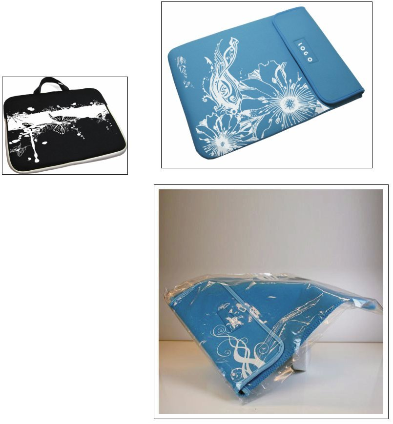 (8) * 100x laptop sleeve