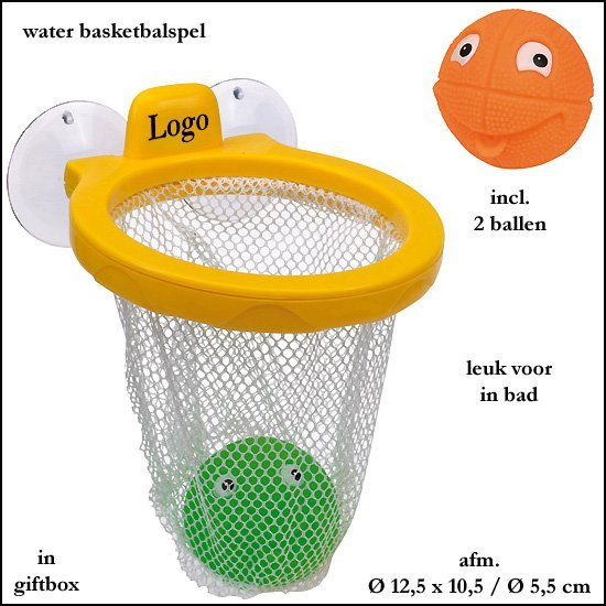 * 500x Water basketbalspel