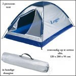 *  100x tent 2 persoons