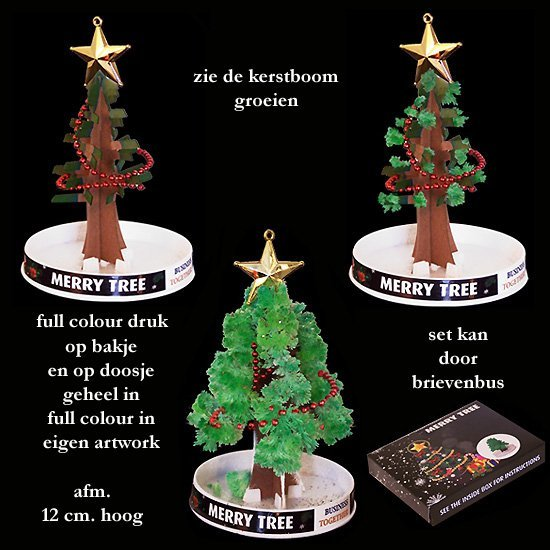 *  2500x Magic kerstboom