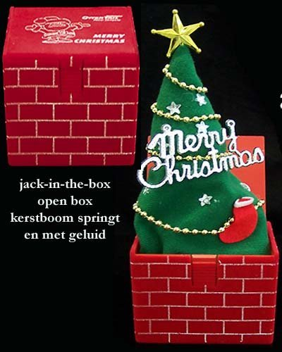 * 500x Jack in the Box kerstboom