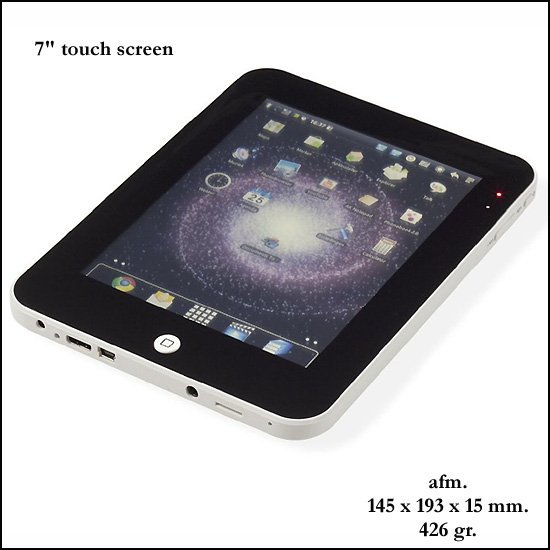 "25x Tablet 7"" touch screen"