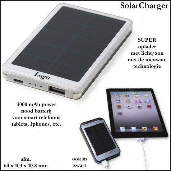 *  100x SUPER power SolarCharger