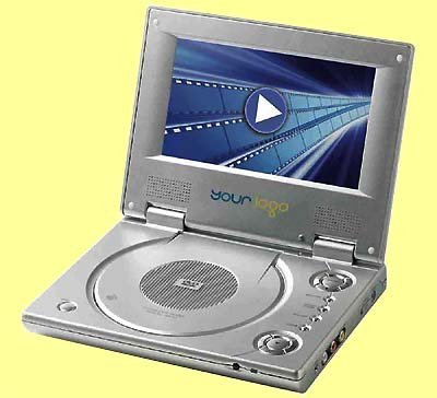 10x Portable DVD Player 7 inch TFT LCD