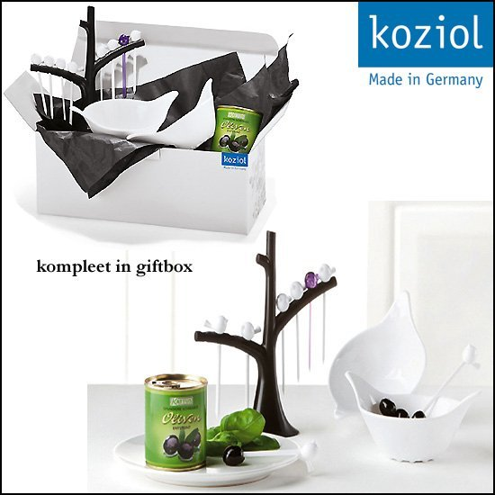 * 100x SERVING BIRD gifset KOZIOL