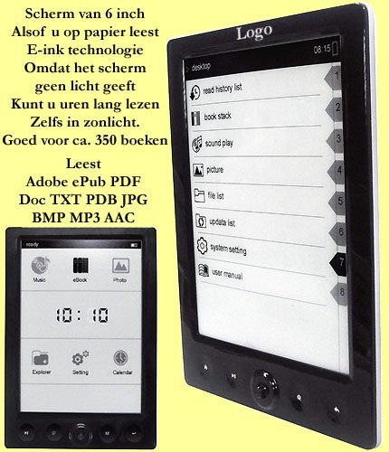 10x Ebook reader