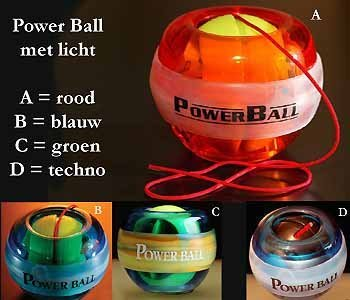 100x DE orginele Bower Ball licht