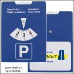 * 10.000x basic parkeerschijf