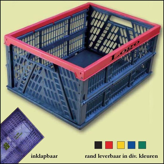 * 500x shopping krat klip-klap box