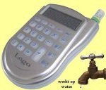* 500x water powered handy calculators