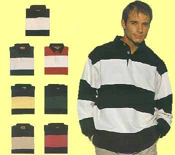 50x fashion rugby stripes US BASIC