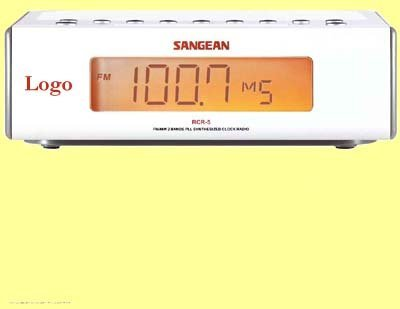 50x DIGITAL CLOCKRADIO SANGEAN