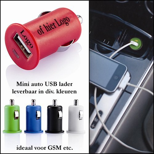 * 500x Mini auto USB lader